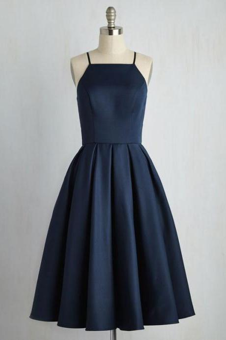 Navy Blue Homecoming Dresses, Formal Dresses, Graduation Party Dresses, Banquet Gowns