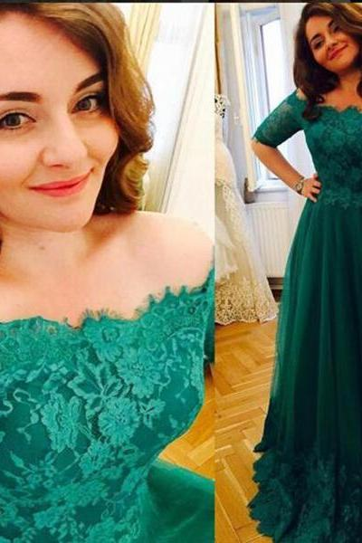Prom Dresses with Sleeves, Formal Dresses, Graduation Party Dresses, Banquet Gown