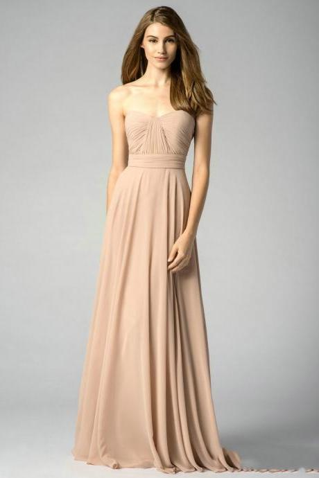 Chiffon Bridesmaid Dresses pst0278
