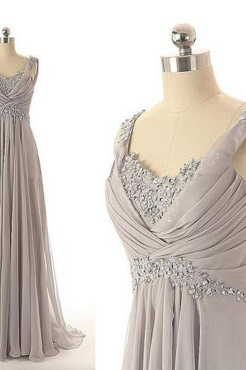 Floor Length Chiffon Prom Dresses Sweetheart Neckline Ruched Details pst0022