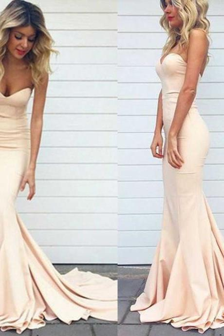 Fashion Mermaid Prom Dresses Prom Dress Evening Gown For Wedding Party