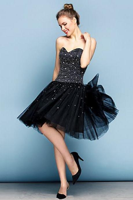 little black dresses, homecoming dresses, short prom dresses