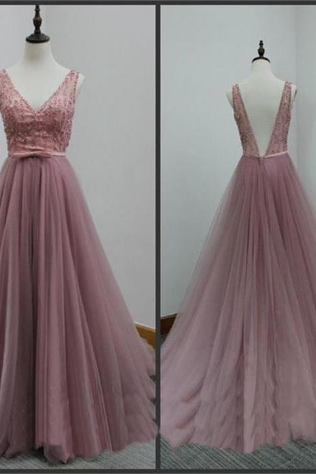 V back prom dresses, formal dresses, wedding party dresses, graduation party dresses,sweet 16 dresses