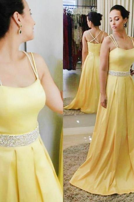 2017 Sweetheart Neckline Prom Dresses Wedding Party Dresses Sweet 16 Dresses Banquet Dresses with Spaghetti Straps