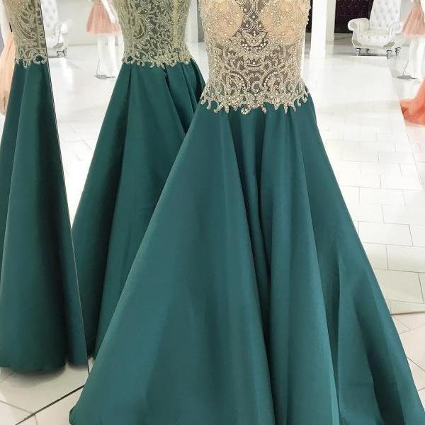 2018 Prom Dress, Sweet 16 Dress, Evening Dresses, Pageant Dresses, Graduation Party Dresses, Banquet Gown